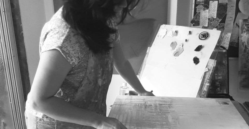 Indian Artist Bansri Chavda
