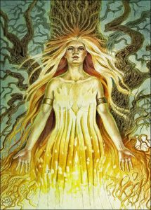 brigid, goddess, mythical history